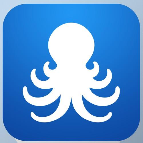 Simple Clean Social Media Contacts App Icon