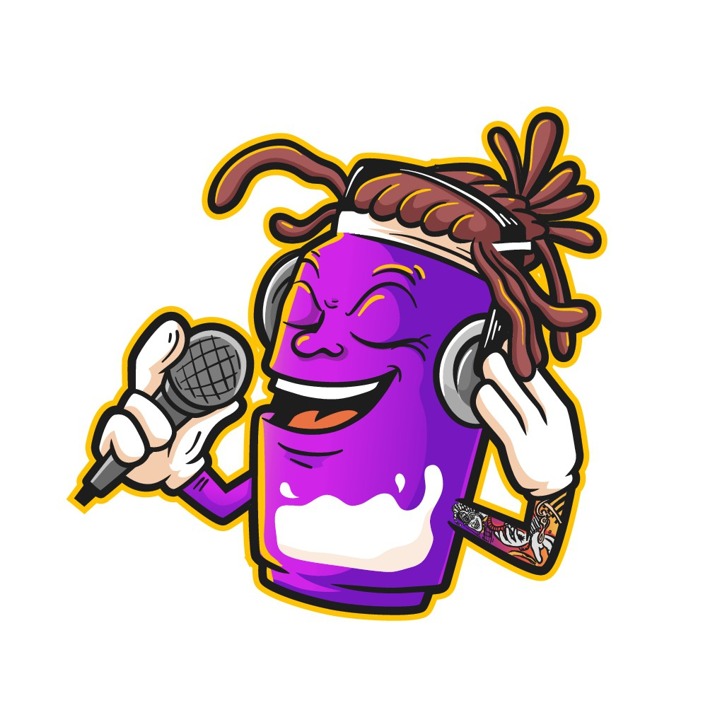 Design a mayo mascot logo for hiphop/rock artist youtube channel