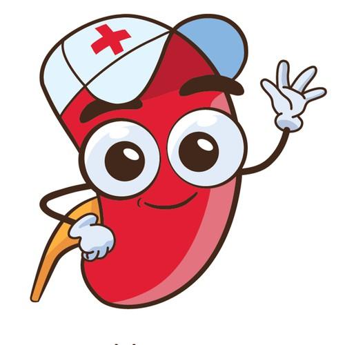 Entry for kidney transplantation mascot