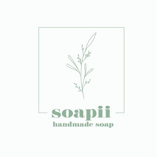 logo design for handmade soap company