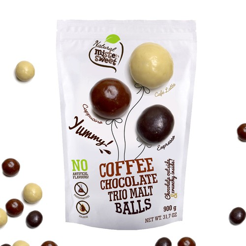 coffee chocolate balls