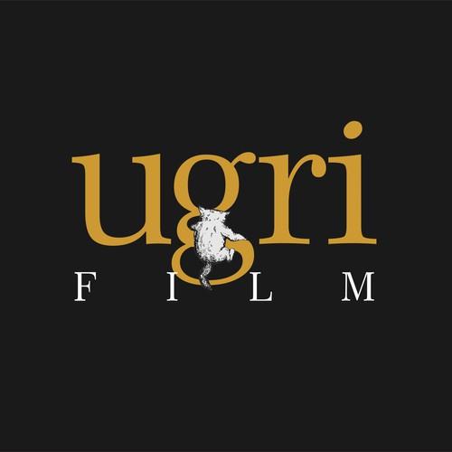 attractive logo for nordic based film company