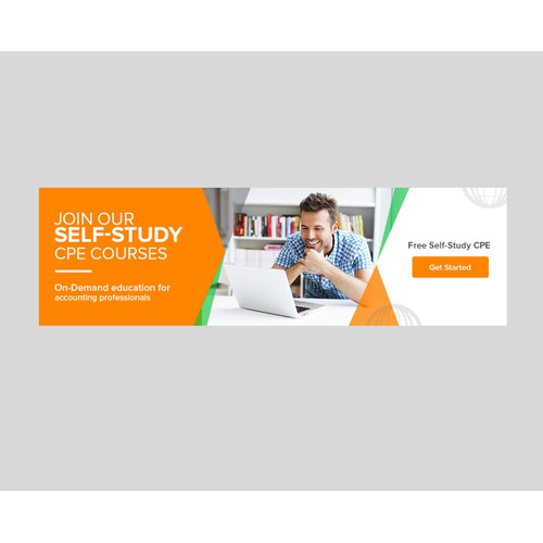 Banner ad for CPA Academy