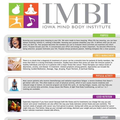 Flyer for Wellness Institute