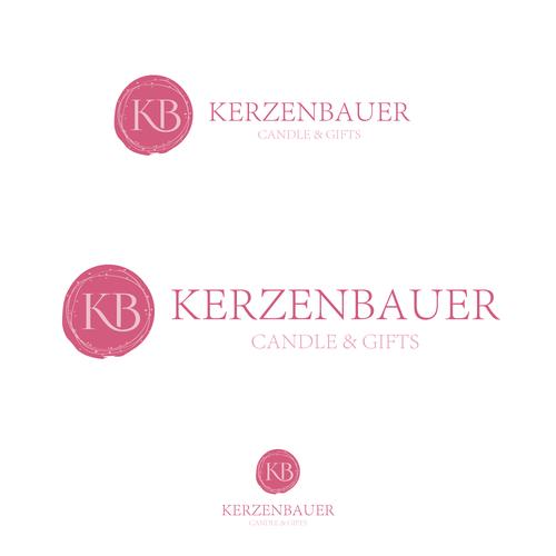 """lightfull"" Logo für KerzenBauer"