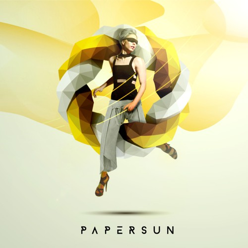 logo and design for papersun agency