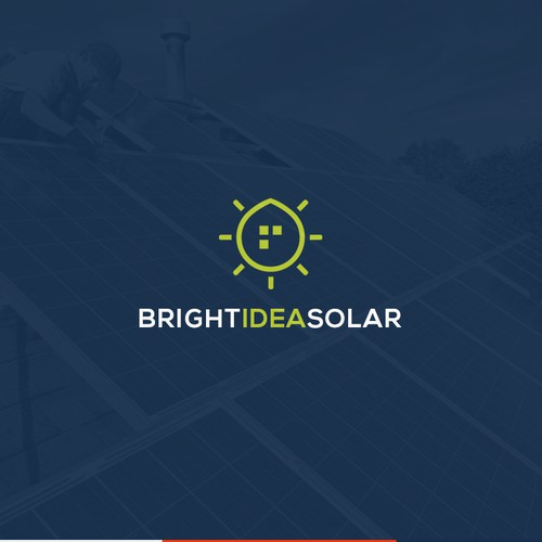Modern logo for new UK solar installation company