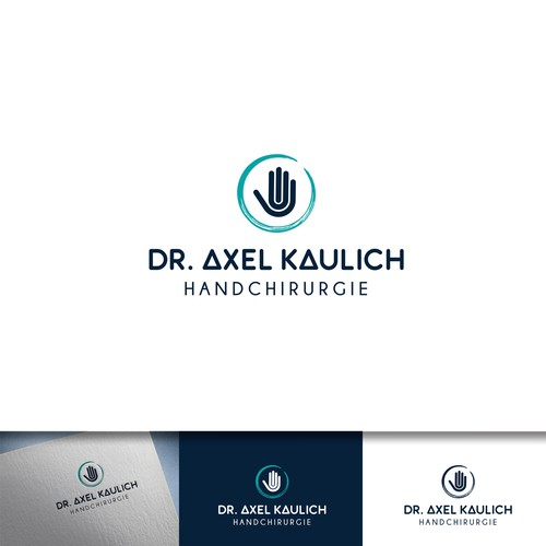 Logo for a specialist hand surgeon