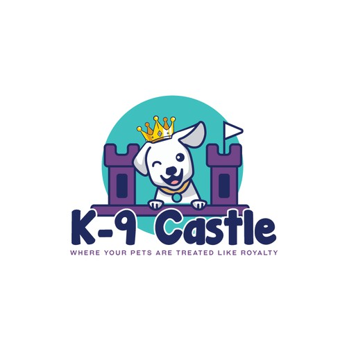 Logo design for k-9 Castle