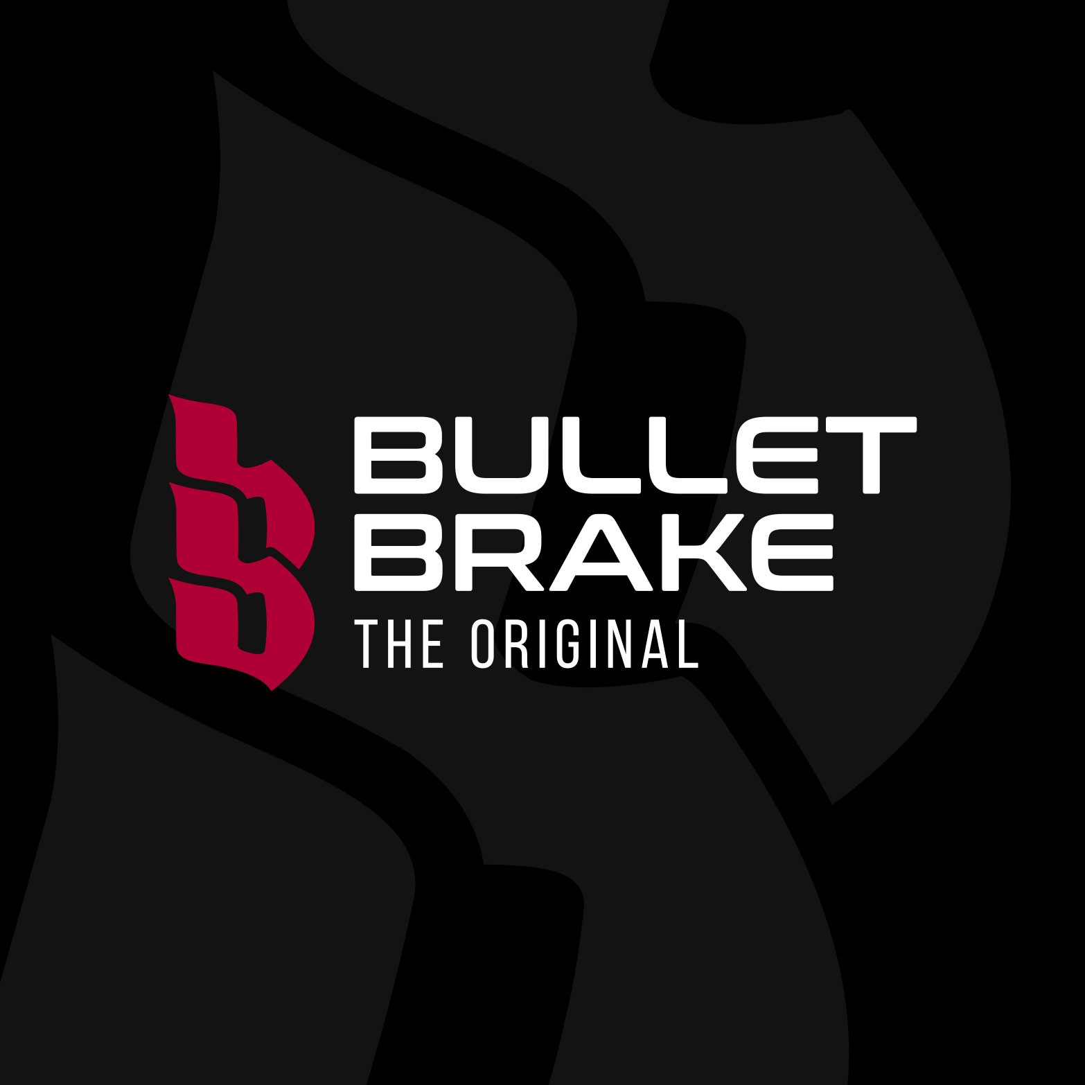 "Create the brand for the one and only ""Bullet Brake"" Motorcycle parking brake."