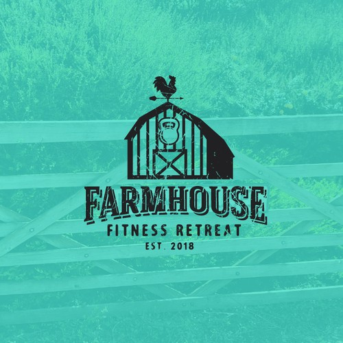Farmhouse Fitness retreat Logo