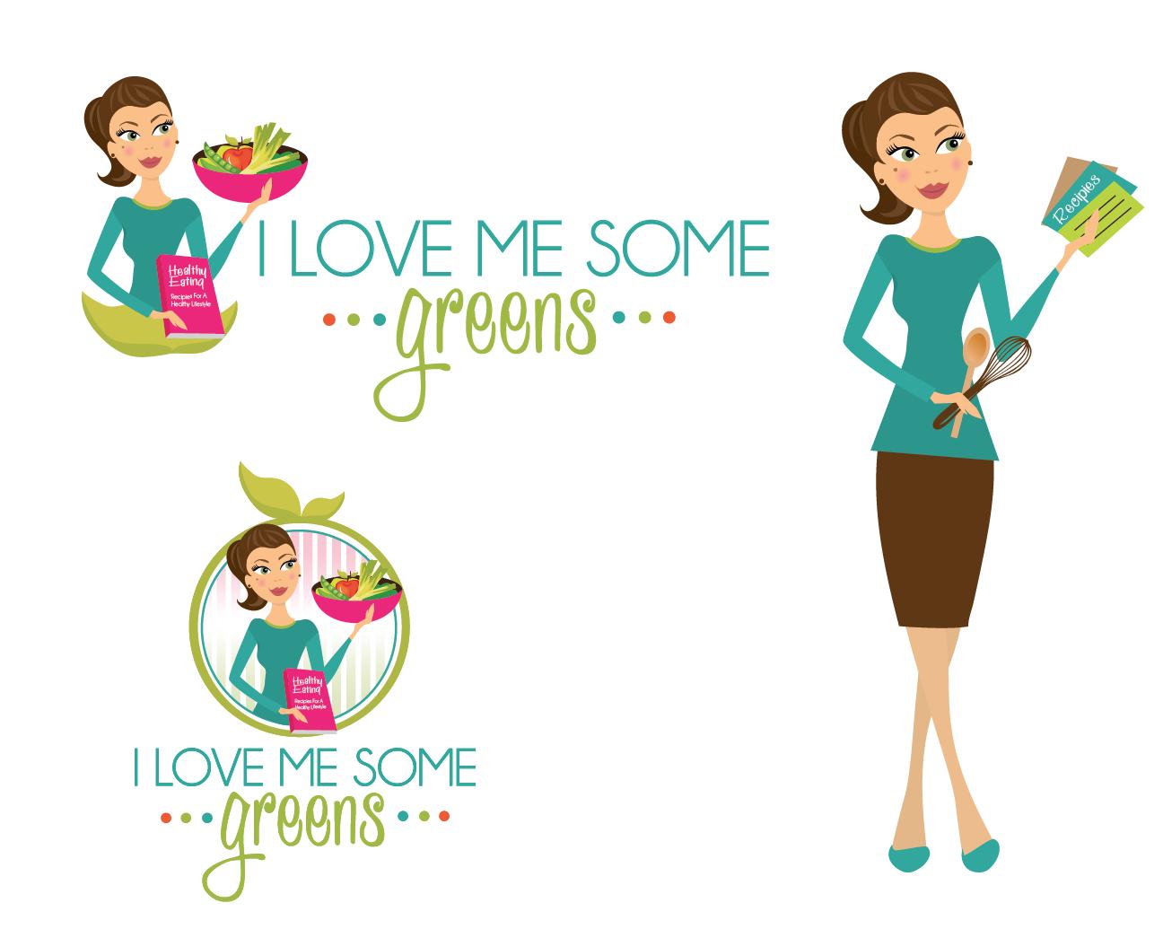 I love me some greens needs a new logo