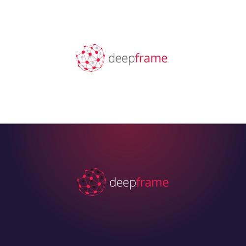 DeepFrame Logo concept
