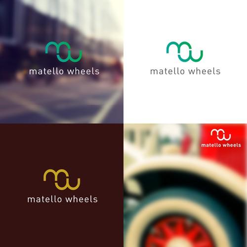 Logo for car parts company