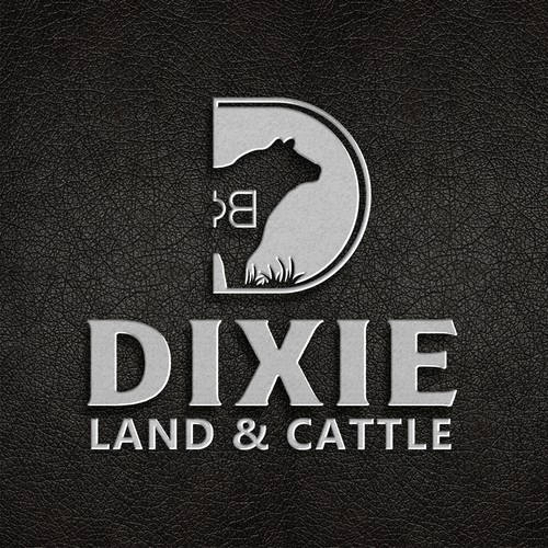 DIXIE Land and cattle logo