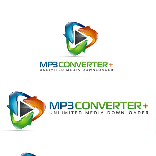 Create the next logo for MP3 Converter Plus