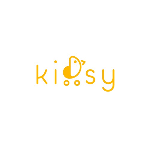 Logo for kids online secondhand store