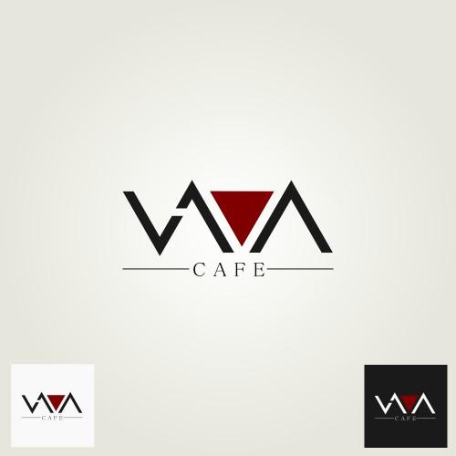 Logo Design for Lava Cafe