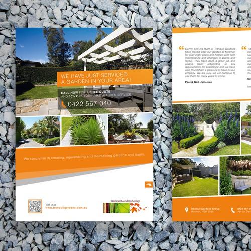 Tranquil Gardens flyer