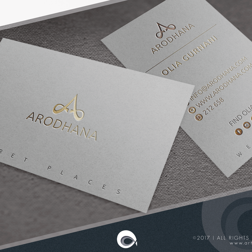 Luxurious Business Cards
