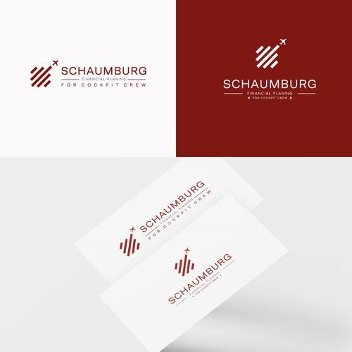 Schaumburg consulting logo design