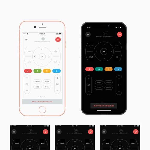 Remote control app concept