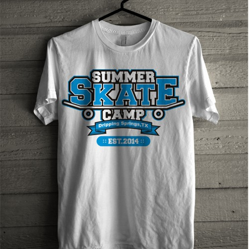 We Need The Ultimate Tee for our Summer Skateboarding Camp!