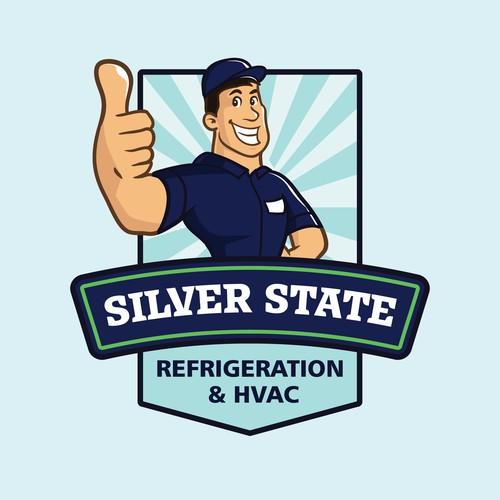 Silver State Mascot Logo Concept