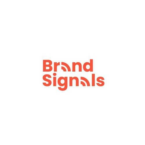 brand signals logo design