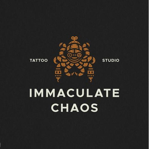Immaculate Chaos Tattoo Logo