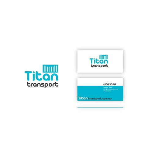 Logo and Business Card for Logistics/Shipping Company
