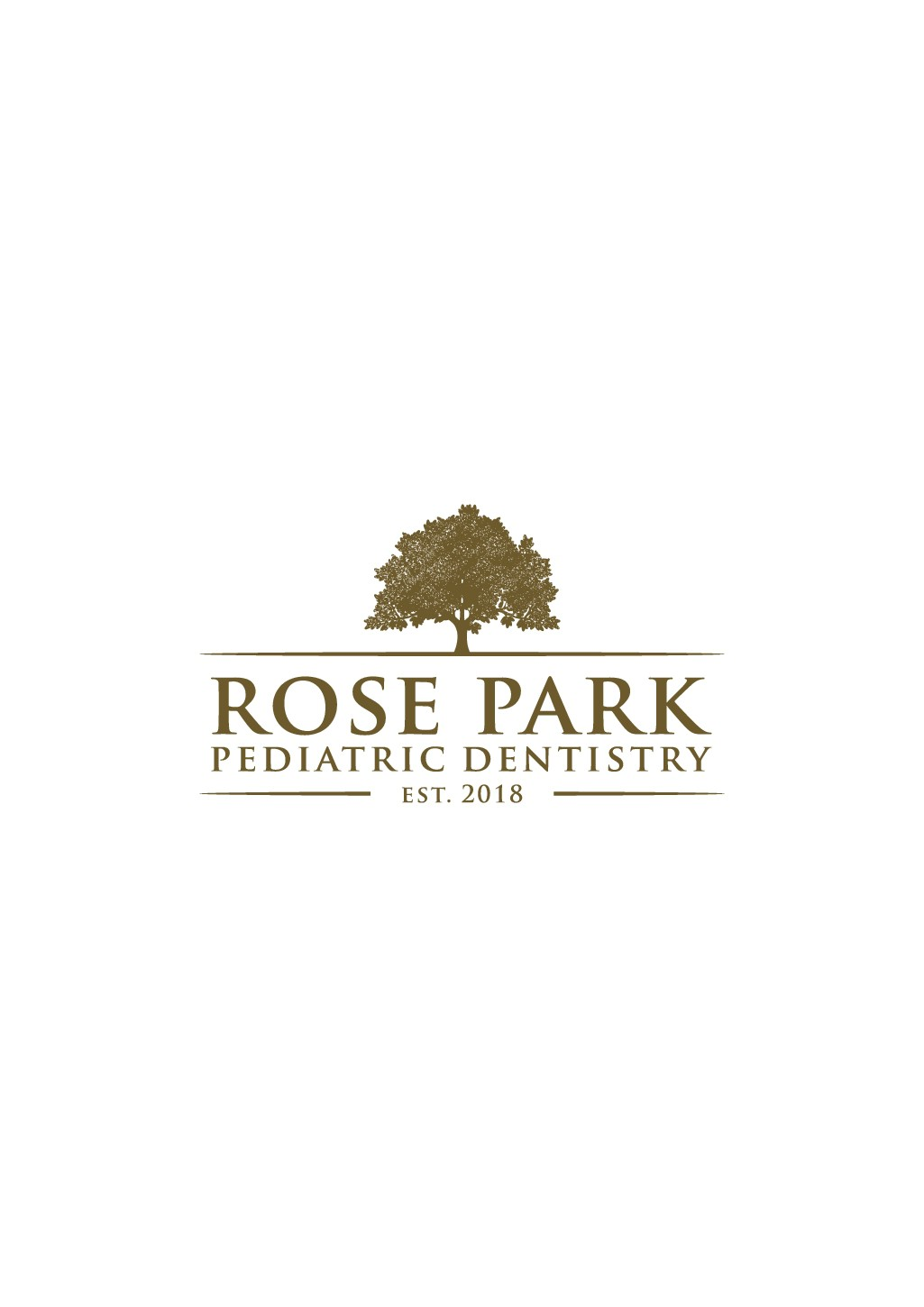 Luxurious Pediatric Dental Logo