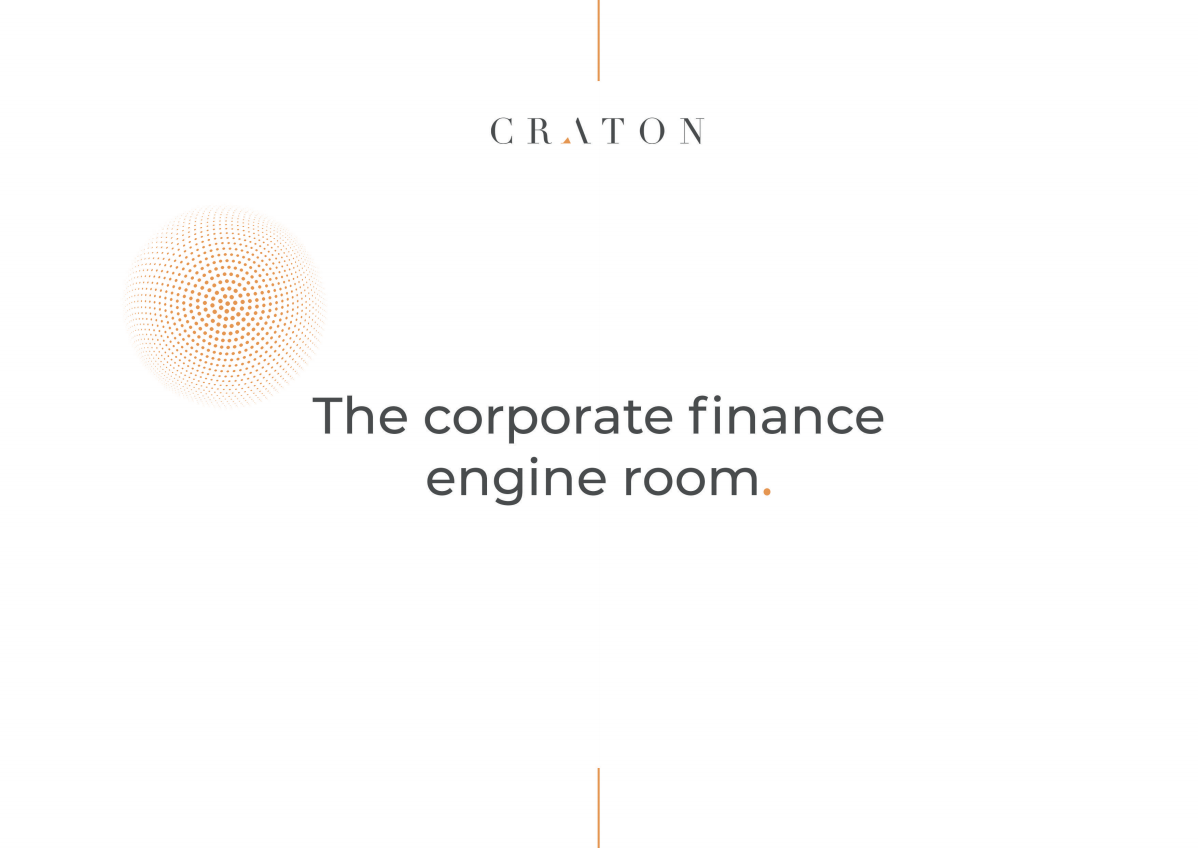 Craton Brochure design