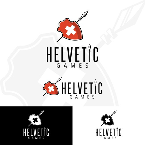 Logo Concept for Helvetic Games