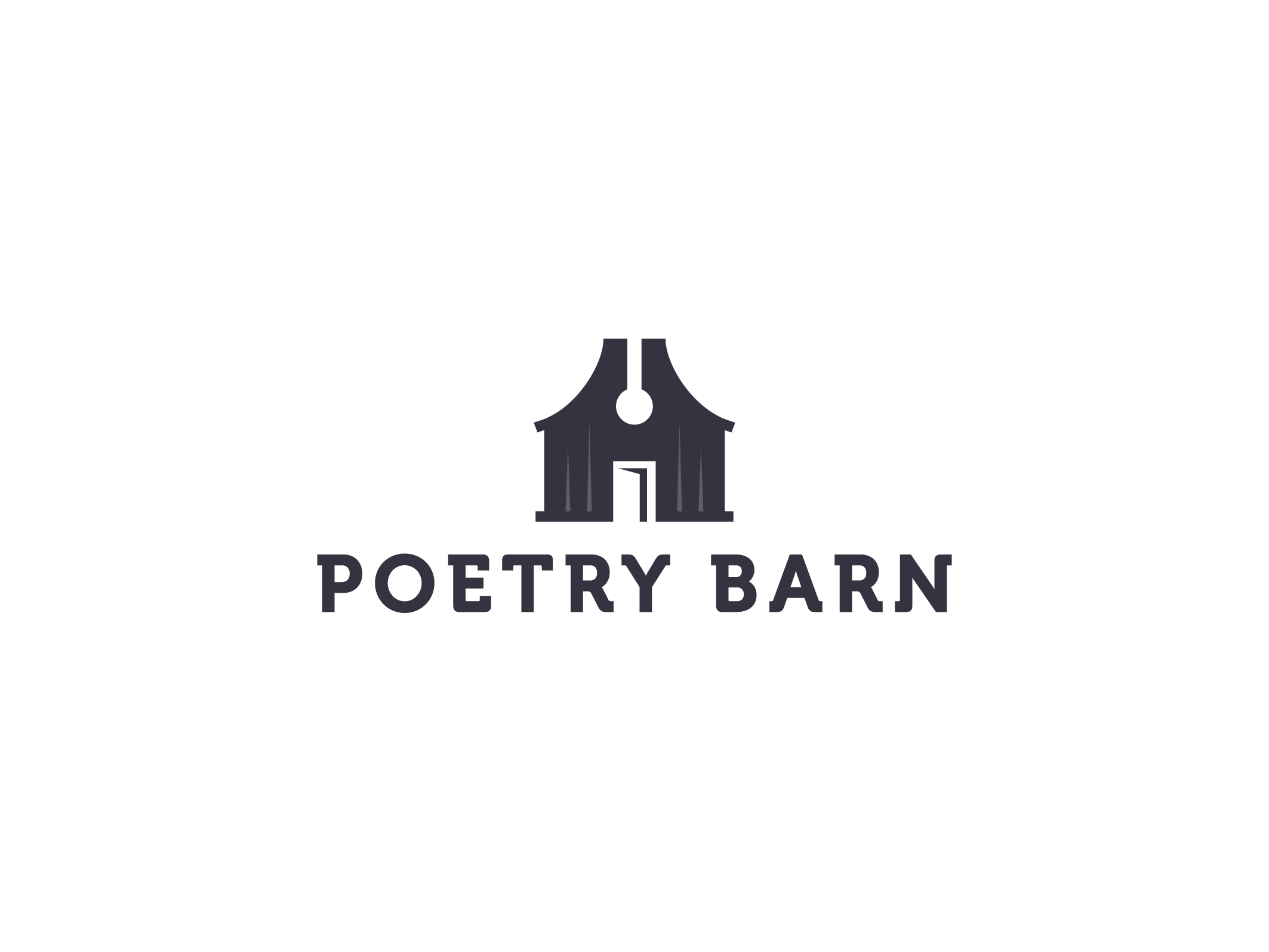 Create an evocative, memorable identity for The Poetry Barn!