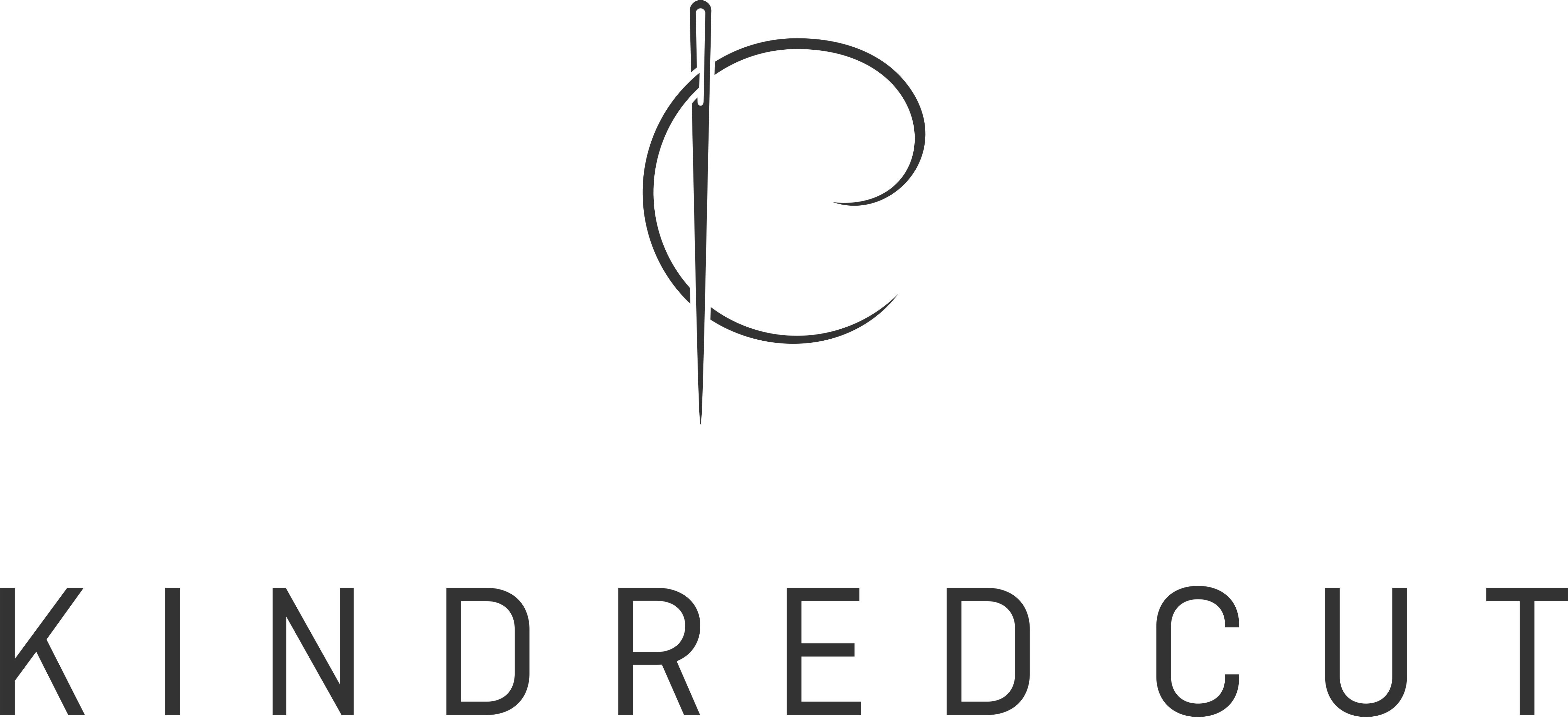 Create a high-end fashion identity for Kindred Cut