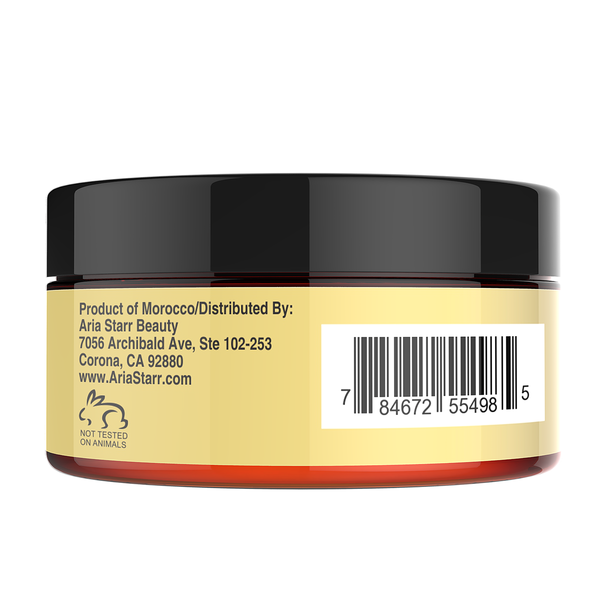 """Create a product label for """"Argan Oil Hair Mask"""""""