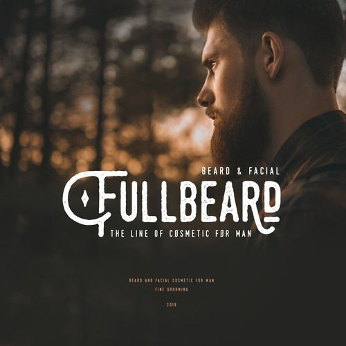 Beard & facial cosmetics for men FULLBEARD