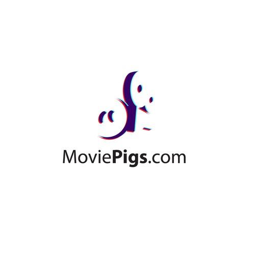 Create capturing branding for MoviePigs.com
