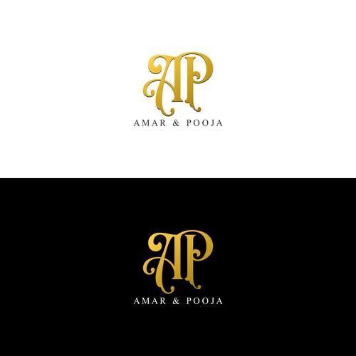 Amar & Pooja Monogram Design