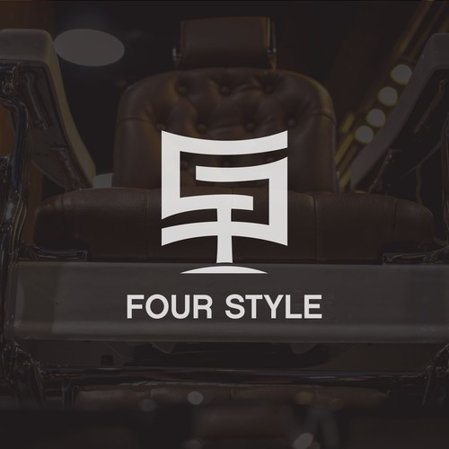 Four Style Luxury Salon Logo