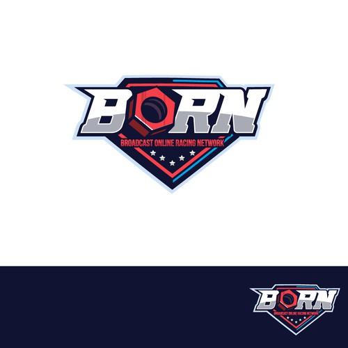 BORN logo design