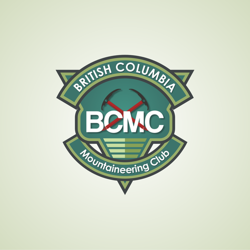 British Columbia Mountaineering Club with a new logo