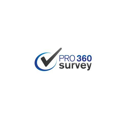 Logo concept for Pro 360 Survey