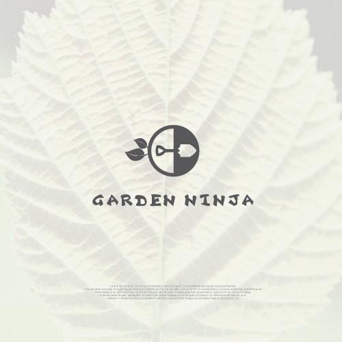 Iconic Logo for Garden Ninja