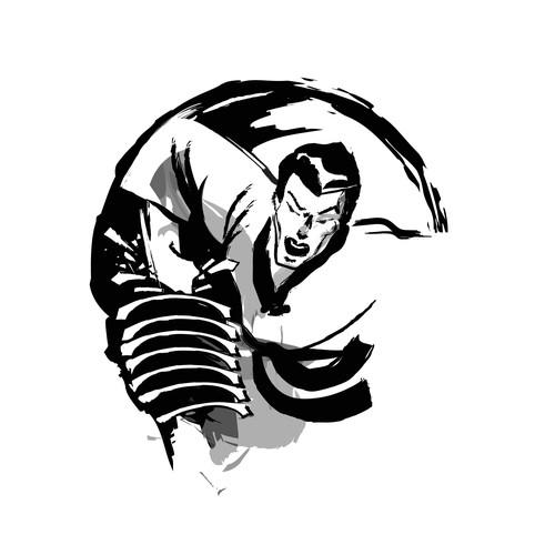 Martial Art Event Illustration