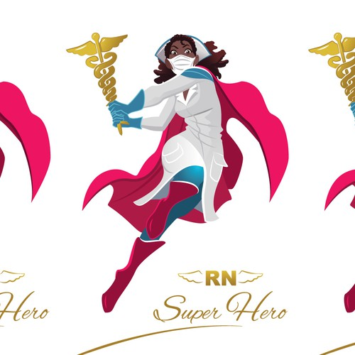 Mascot, Super Hero Nurse