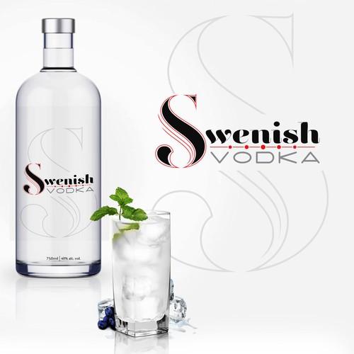 Label concept for vodka