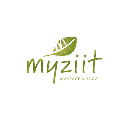 myziit_ Logo für Massage & Yoga