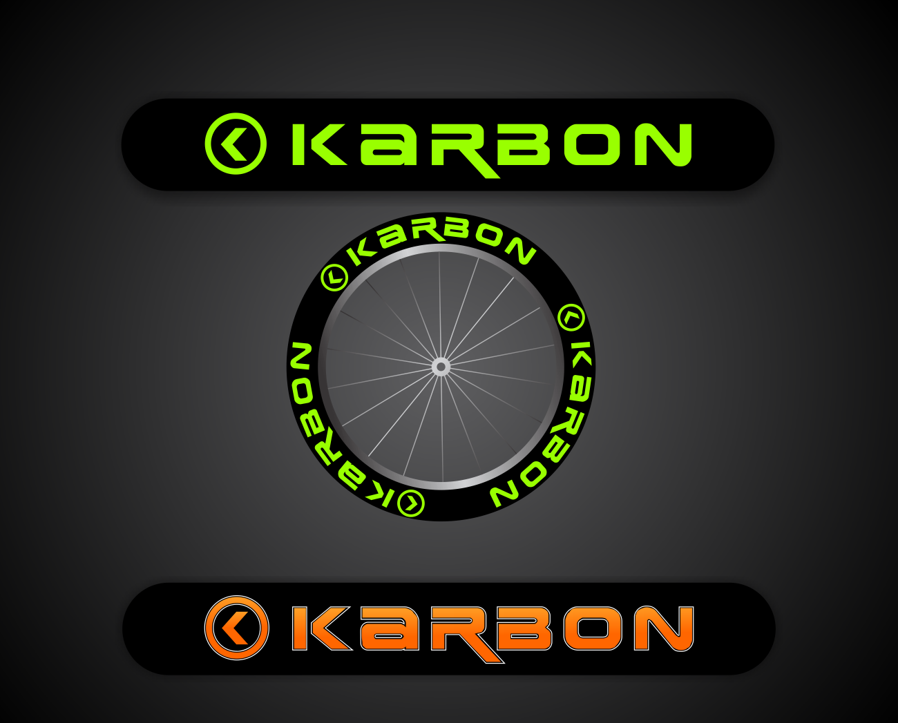 Logo wanted for Karbon (High performance triathlon products, including bike wheels)